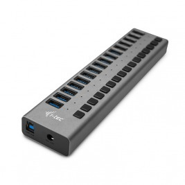 i-tec USB 3.0 Charging HUB 16 port + Power Adapter 90W