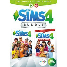 PC - THE SIMS 4 + CATS & DOGS  CZ/SK Bundle