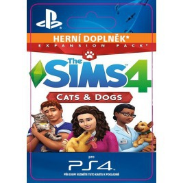 PS4 - THE SIMS 4 + CATS & DOGS