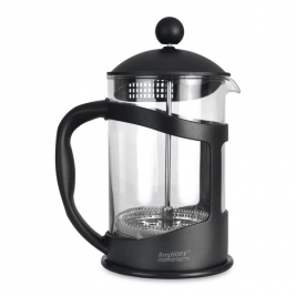 French press na kávu/čaj Studio 1l (čierny)