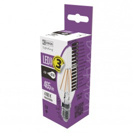 LED FLM CANDLE 4W(40W) 465lm E14 NW A++