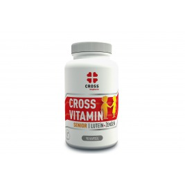 Cross Vitamin Senior Luteín + Ženšen  90 kapsúl