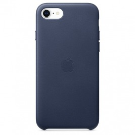 iPhoneSE Leather Case - Midnight Blue