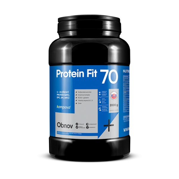 855-ProteinFit 70 2000 g-66 dávok, cappuccino