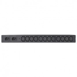 Rack ATS, 230V, 10A, C14 in, (12) C13 out