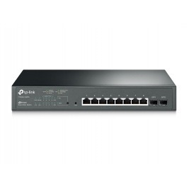 TP-Link T1500G-10MPS 8xGb 2xSFP POE smart sw. 116W